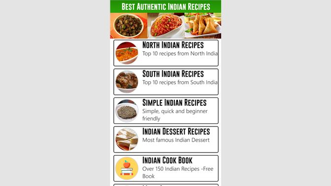 Get best authentic indian recipes microsoft store screenshots forumfinder Images
