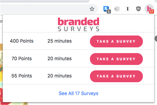 Branded Surveys screenshot 3