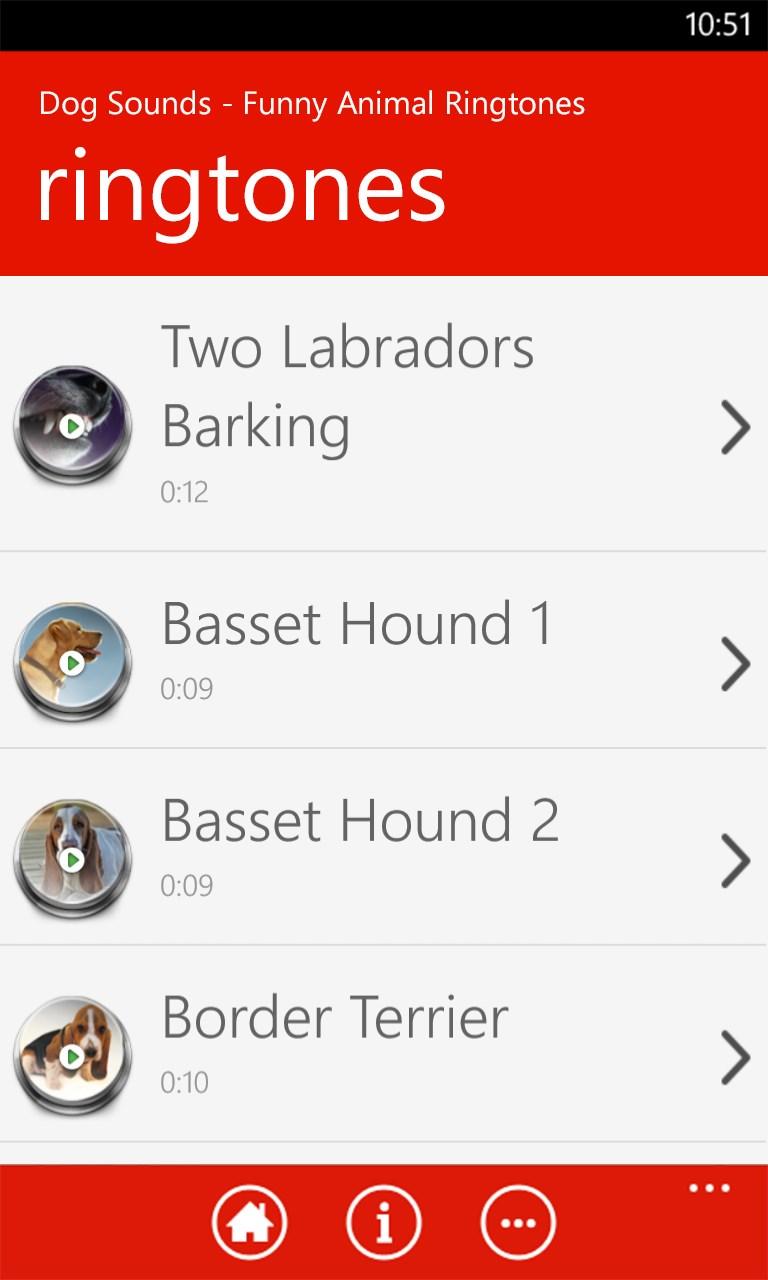 Funny Animal Ringtones For Windows 10 Mobile