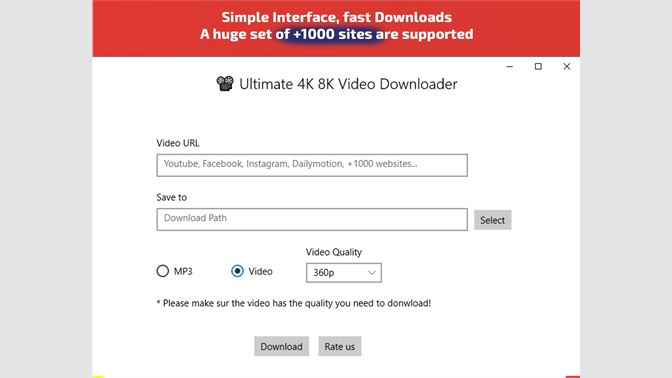 Get All Video Music Downloader : 1000 Sites Support - Microsoft