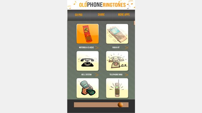 Get Old Phone Ringtones for Windows Phone - Microsoft Store
