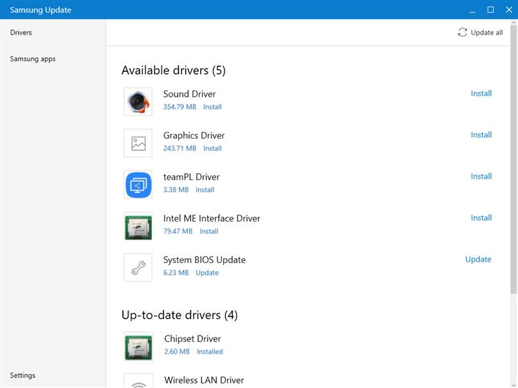 Samsung Update – (Windows Apps) — AppAgg