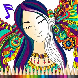 Get Fashion Coloring Book