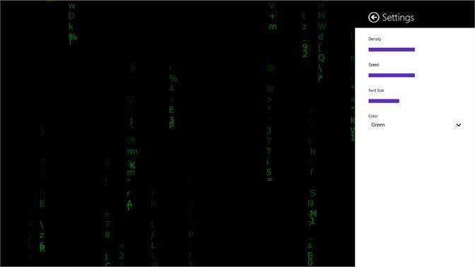 Matrix bildschirmschoner