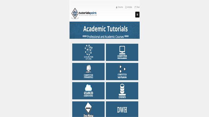 get tutorials point microsoft store