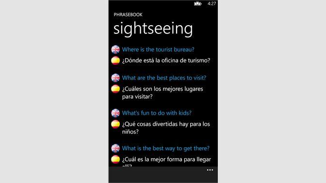 Get Spanish English Dictionary+ - Microsoft Store