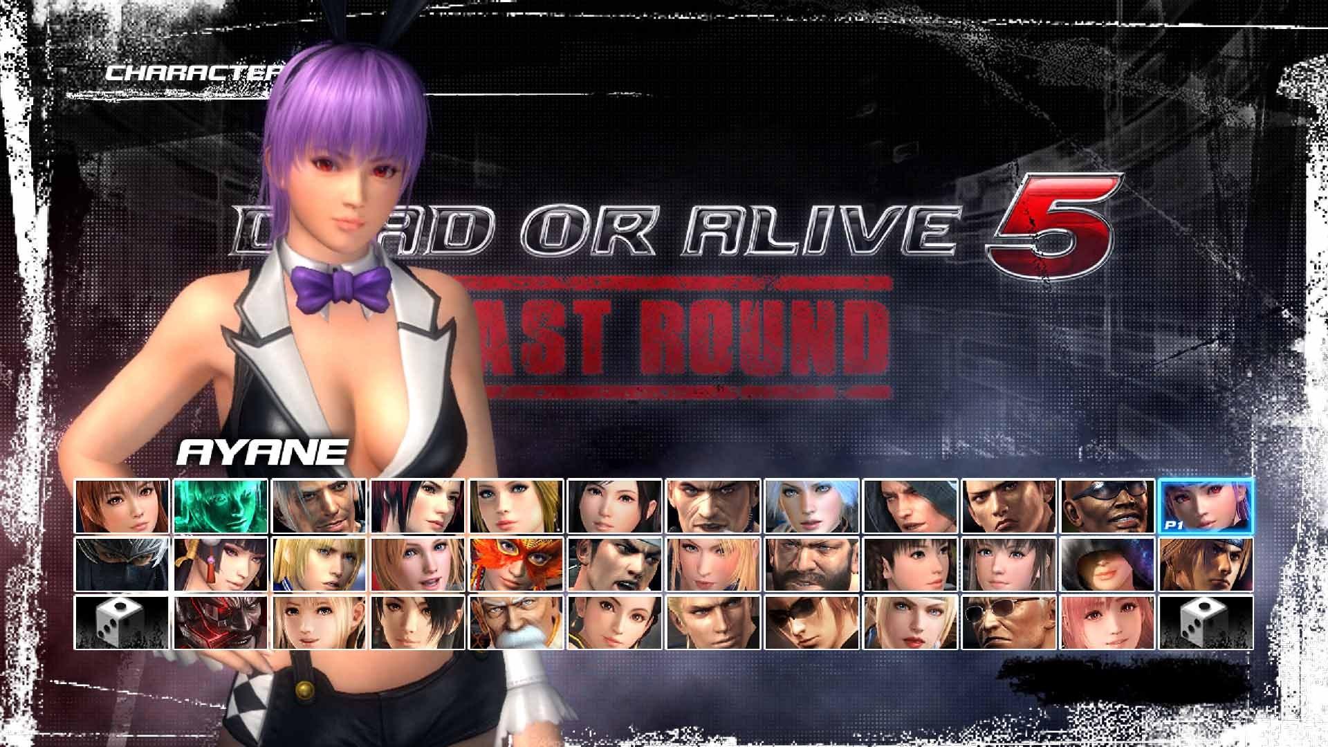 DEAD OR ALIVE 5 Last Round: Coelhinha Sexy Ayane