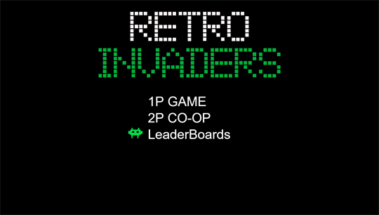 Retro Invaders screenshot 2