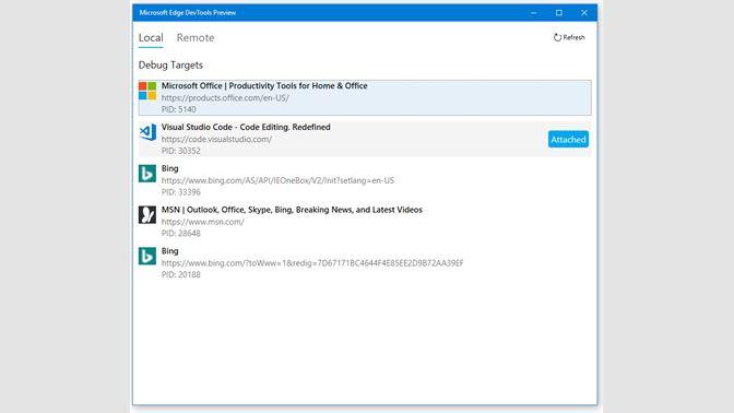 Get Microsoft Edge DevTools Preview - Microsoft Store