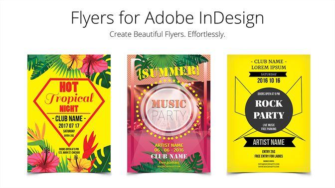 Flyer Templates For Indesign Kaufen Microsoft Store De De