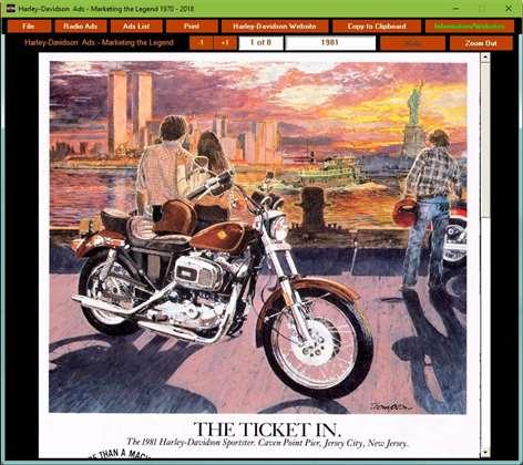 Harley-Davidson Ads 1970-2018 Screenshots 2