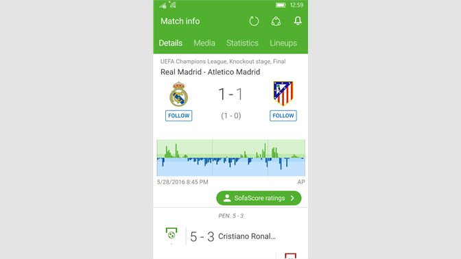 Get Sofascore Livescore Live Scores And Results Microsoft Store