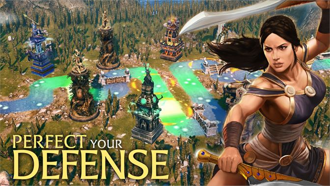 Get Olympus Rising: Hero Defense - Microsoft Store