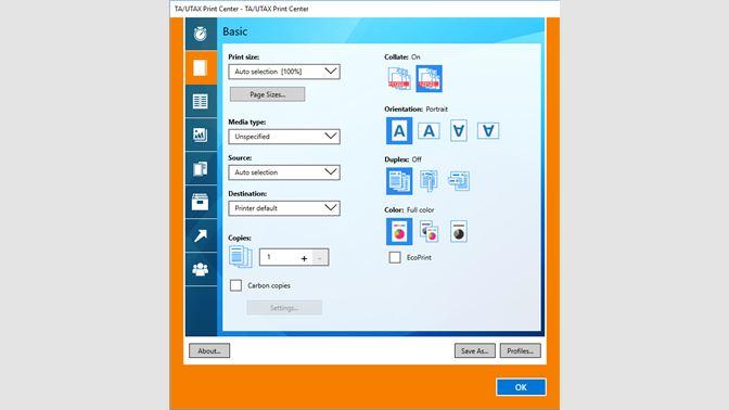 Get TA/UTAX Print Center - Microsoft Store