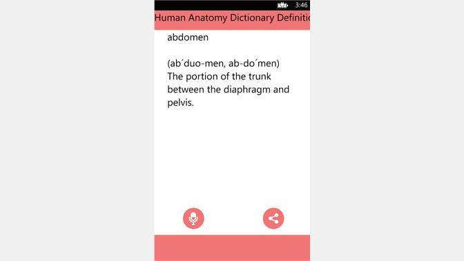Get Human Anatomy Dictionary Definitions Terms - Microsoft Store en-LA