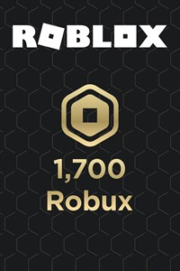 1,700 Robux for Xbox