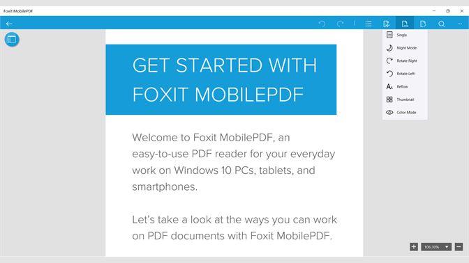 Get Foxit MobilePDF