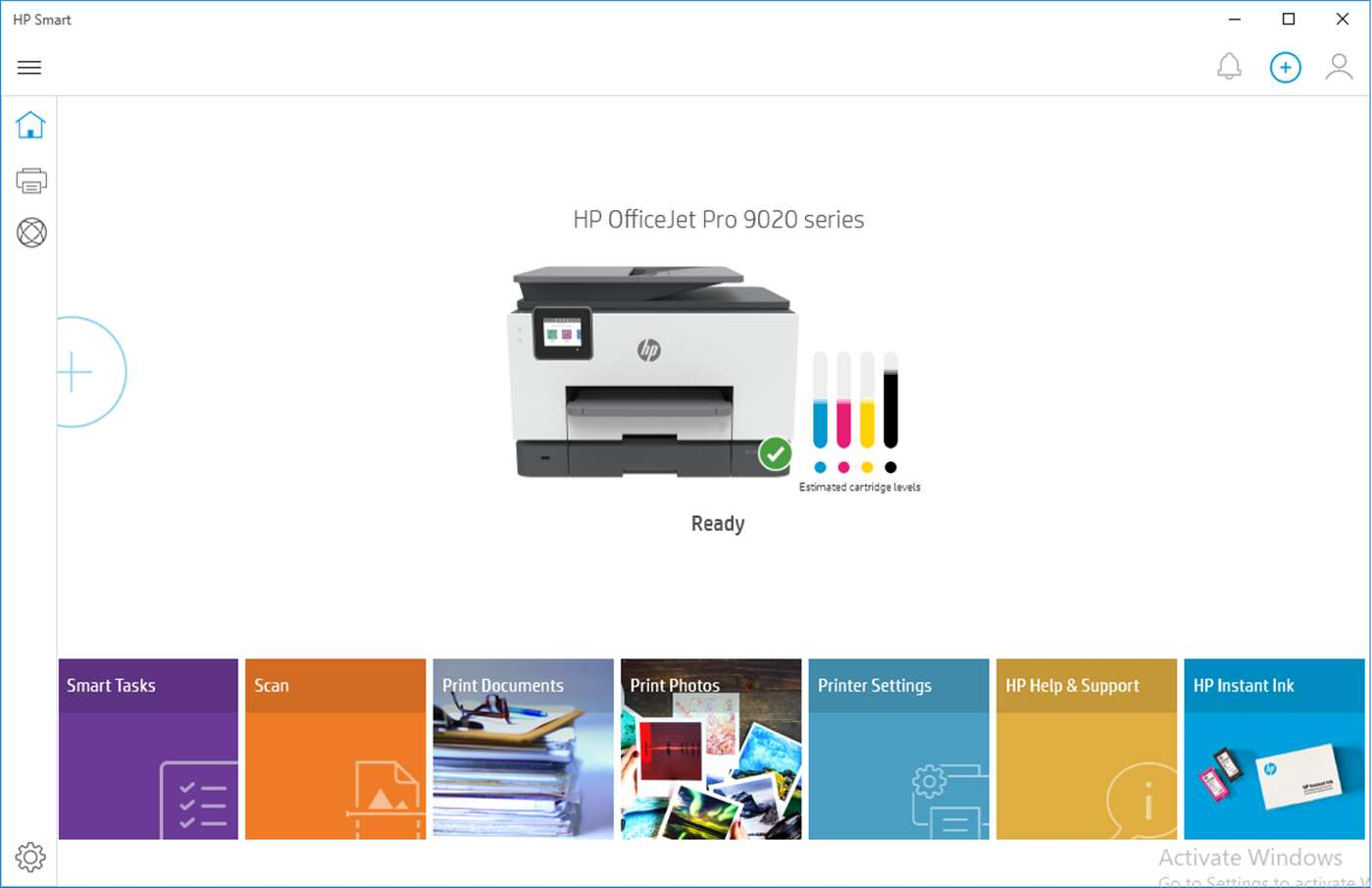 HP Printer Control full screenshot