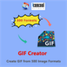 GIF Creator - Create GIF from 500 Image Formats