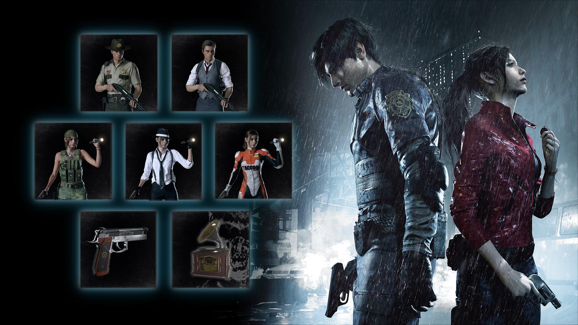 Buy Resident Evil 2 Extra Dlc Pack Microsoft Store En In