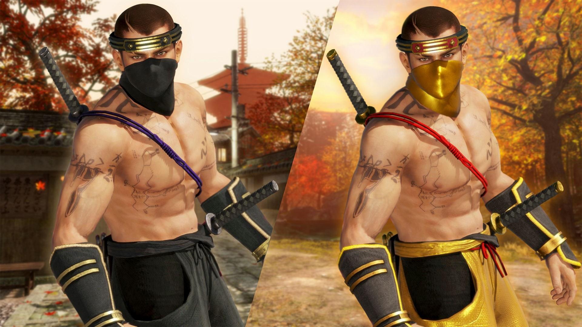 Costume Ninja della trasformazione di DOA6 - Rig