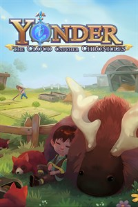 Carátula para el juego Yonder: The Cloud Catcher Chronicles de Xbox 360