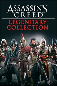Carátula del juego Assassin's Creed Legendary Collection