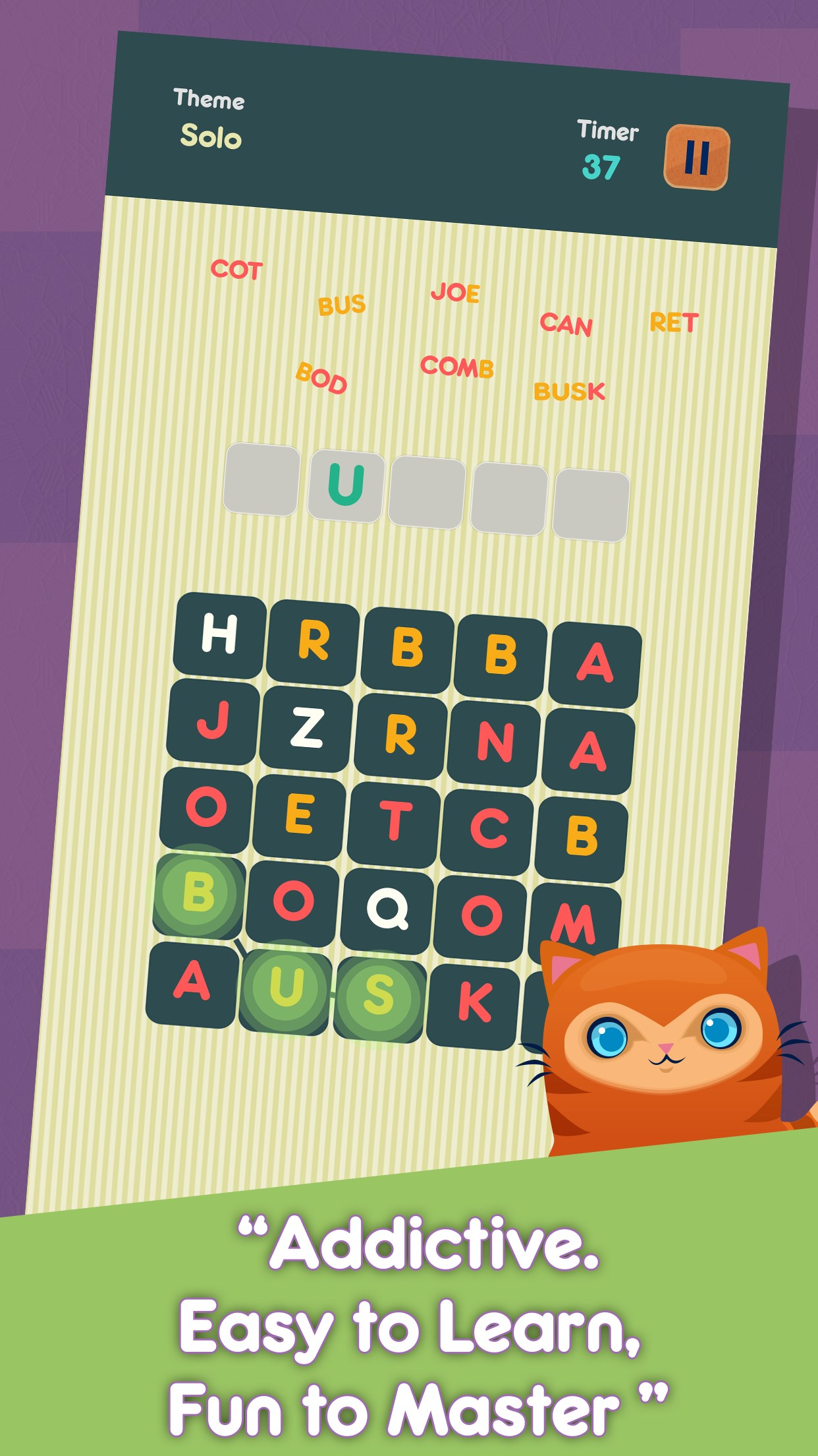 Word Teaser - Challenging Word Game