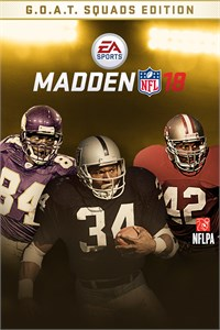 Madden NFL 18 G.O.A.T. Squads Edition