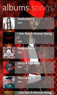 Lil Wayne Musics screenshot 2