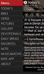 Bible - 57 Languages screenshot