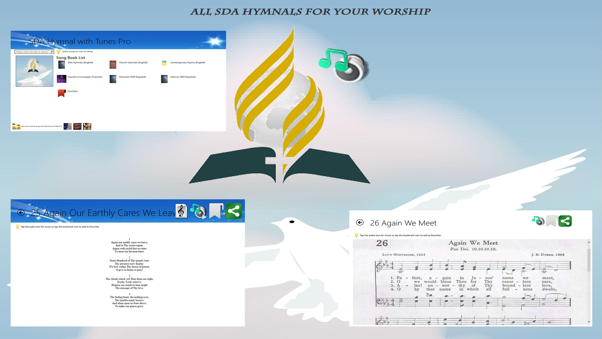 Buy SDA Hymnal with Tunes - Microsoft Store