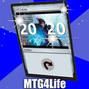 MTG 4 Life (Magic The Gathering Life Counter)