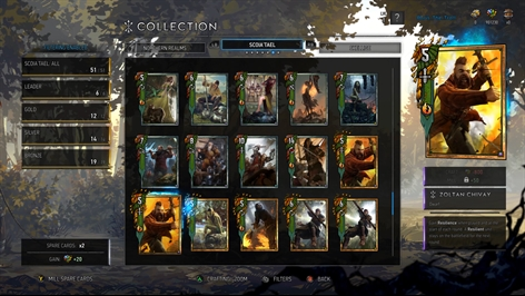 Gwent: The Witcher Card Game (Game Preview) Screenshot