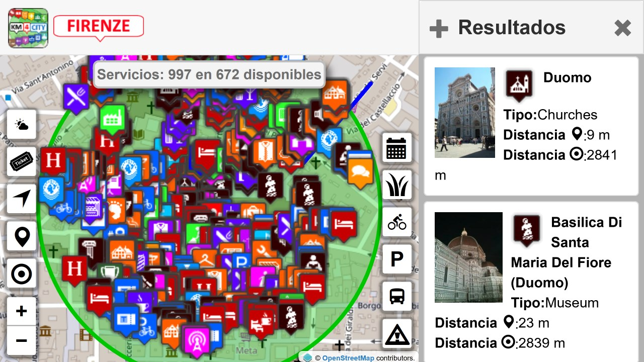 Screenshot 11 de Firenze dove, cosa... Km4city para windows