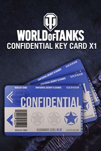 World of Tanks - Confidential Key Card
