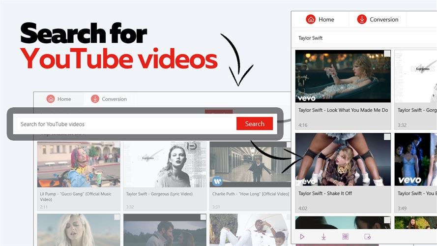 Converter for YouTube. Video and Music Downloader Screenshot