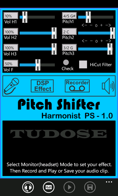 pitch shifter pedal for windows 10 free download on 10 app store. Black Bedroom Furniture Sets. Home Design Ideas