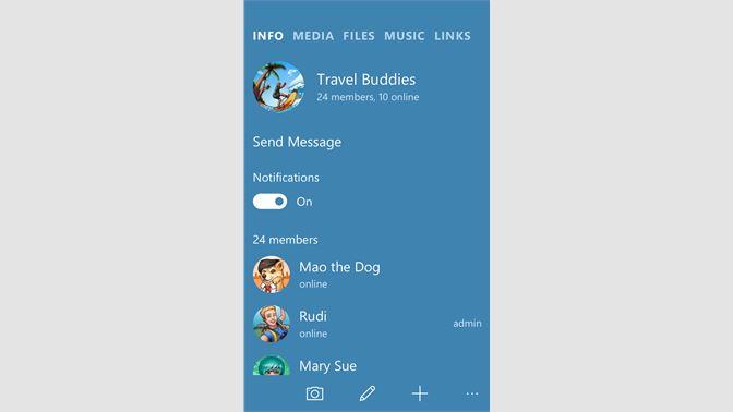 Get Telegram Messenger - Microsoft Store