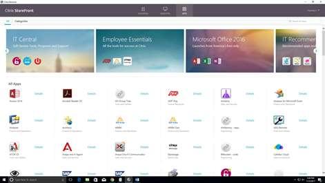 Citrix Receiver Screenshots 1