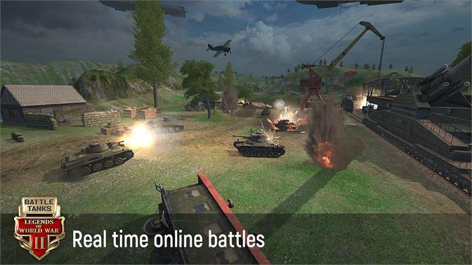 Get Battle Tanks: Legends of World War II 3D Tank Games