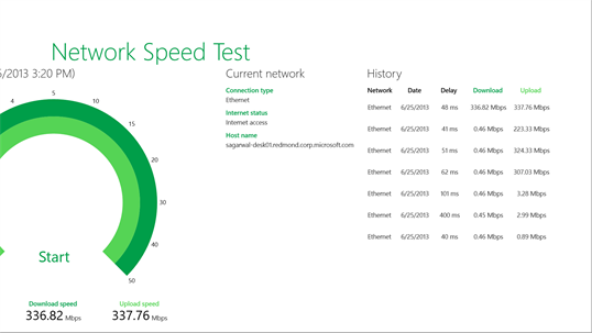 Network Speed Test screenshot 3
