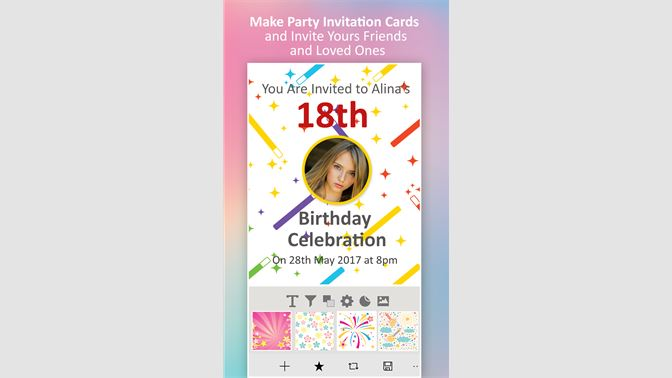 invitation maker rsvp maker を入手 microsoft store ja jp
