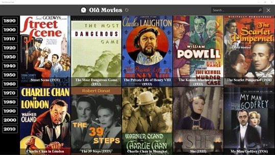 Old Movies Free screenshot