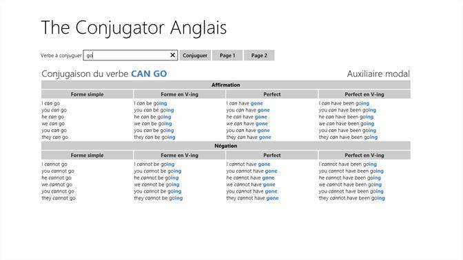 Acheter The Conjugator Anglais Microsoft Store Fr Ca