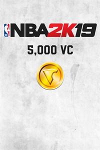 Carátula del juego NBA 2K19 5,000 VC