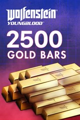 Wolfenstein: Youngblood - 2500 Gold Bars