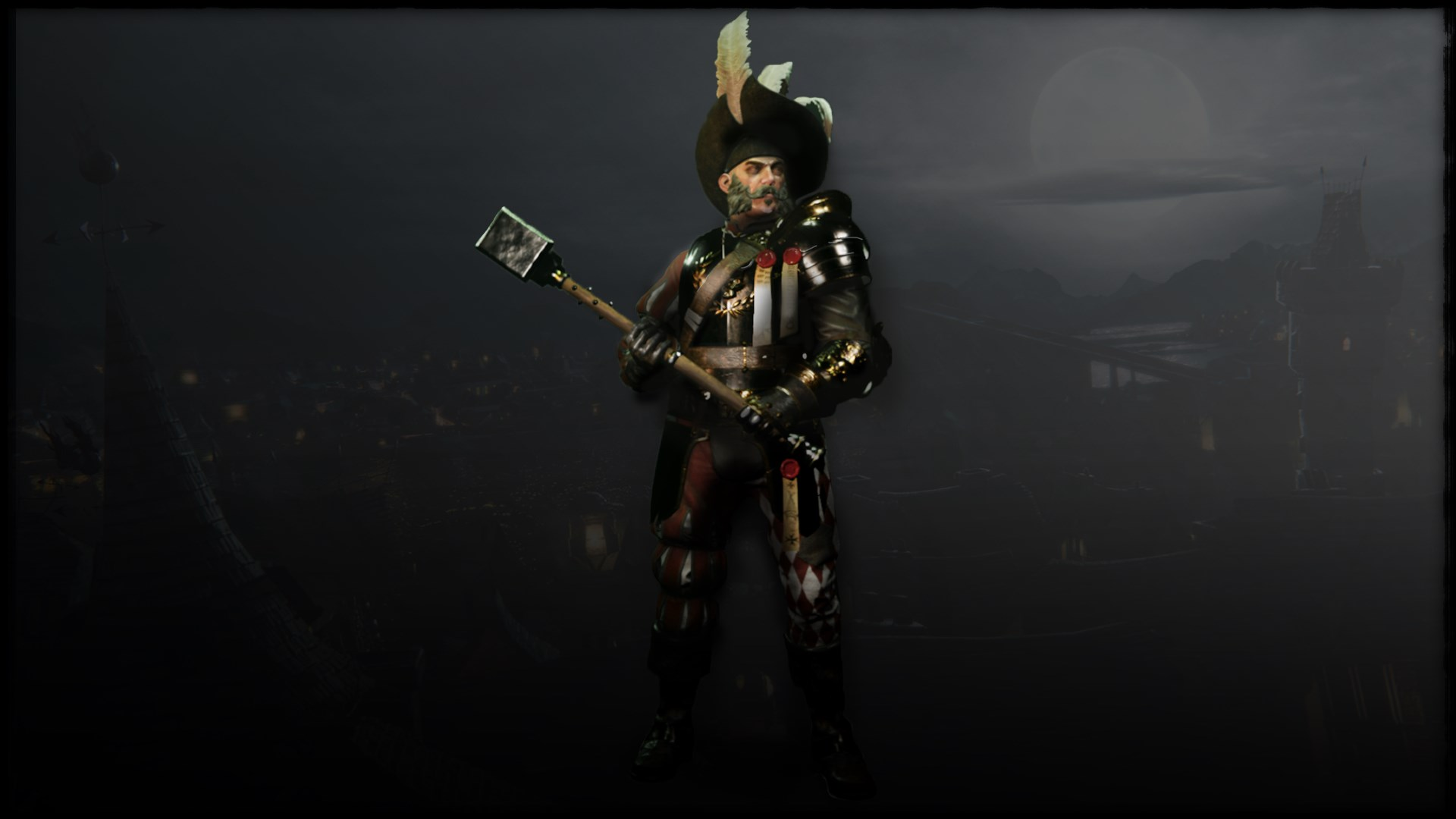 Warhammer Vermintide - Kruber 'Carroburg Livery' Skin