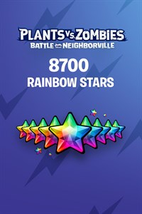 Plants vs. Zombies: Battle for Neighborville™ – 7500 (+1200 Bonus) Rainbow Stars