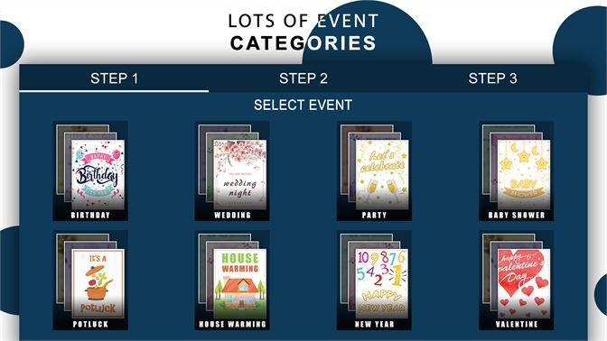 Get Invitation Card Maker E Cards Digital Invites Microsoft Store